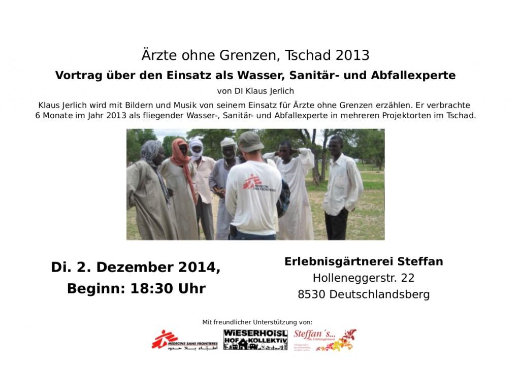 Ankündigung Vortrag - Ärzte ohne Grenzen_02122014